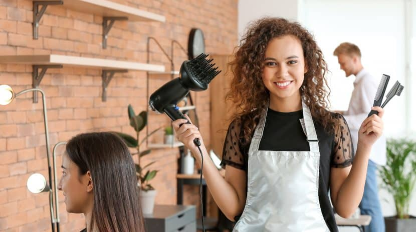 Stock Photo of hairdresser
