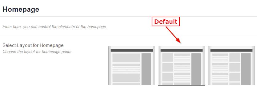 MyBlog WordPress Theme - Homepage Layouts
