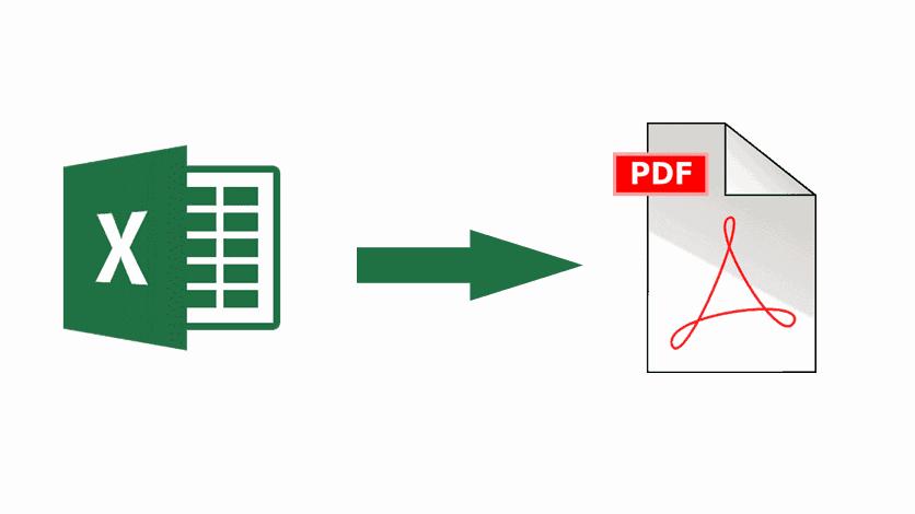 Convertir un fichier Excel en PDF