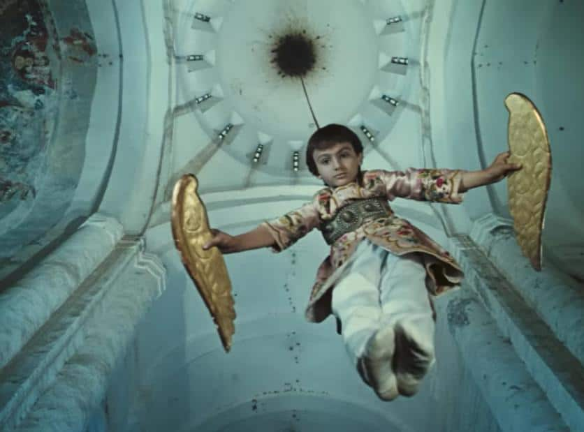 The Color of Pomegranates (film still) 1969