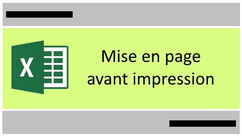 Réussir sa mise en page Excel avant impression