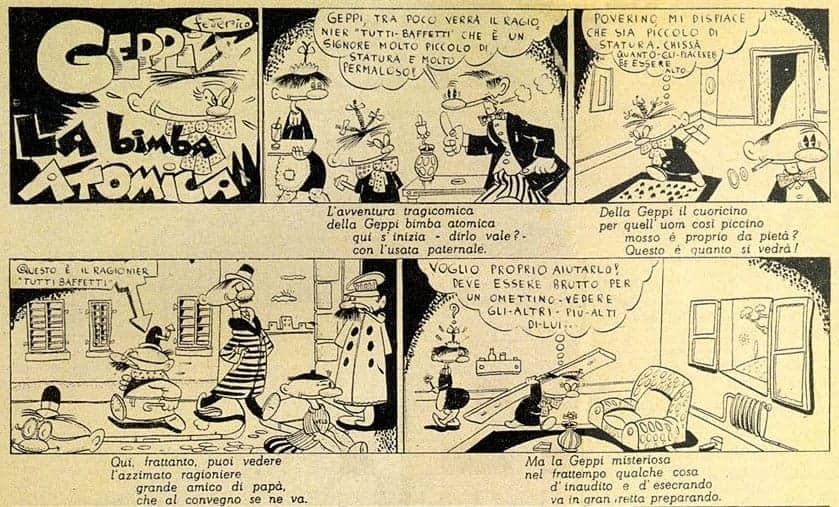 Fellini comic strip
