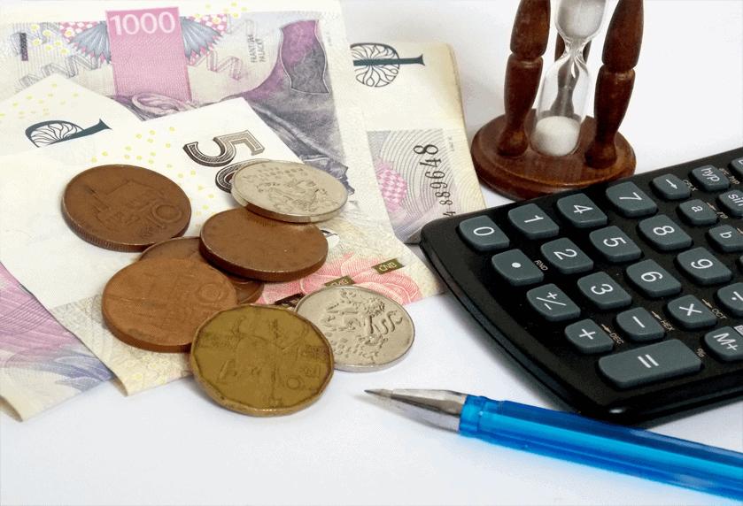 Chyby u financí - ilustrační foto