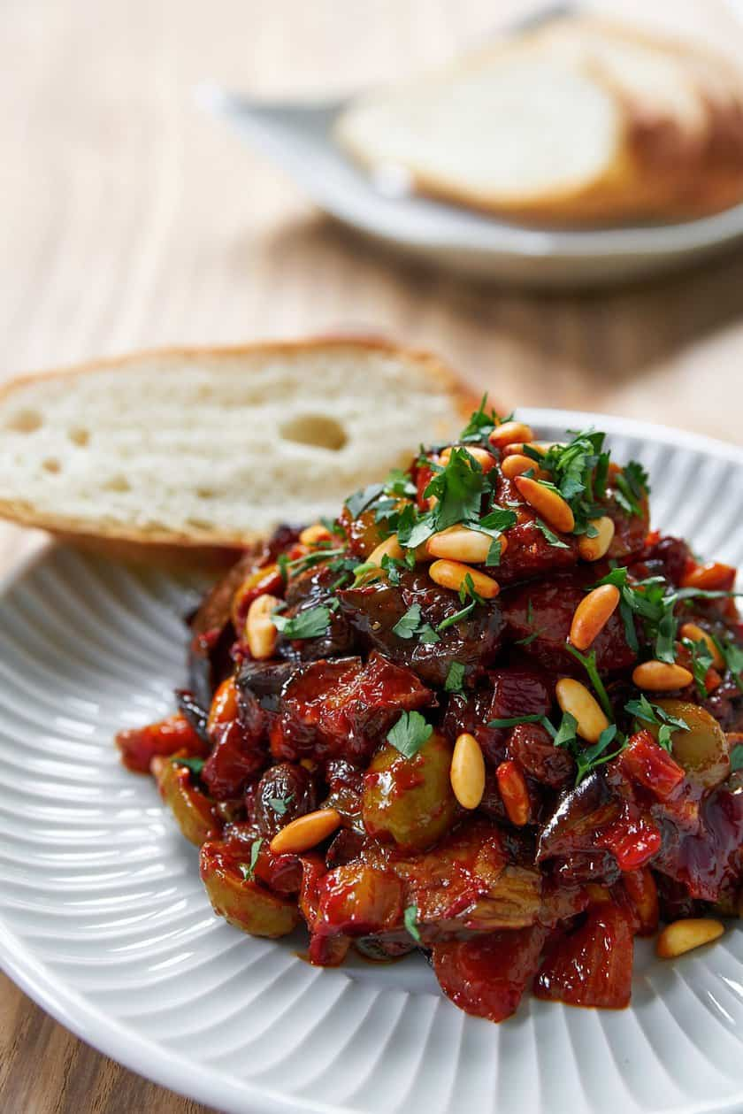 Making the best eggplant Caponata isn't hard, but it does involve a few simple tricks. See how I do it.