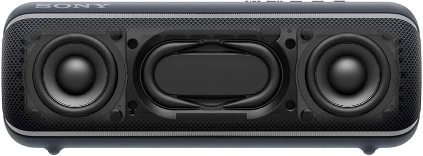 Sony SRS-XB22 Extra Bass drivers y radiadores pasivos