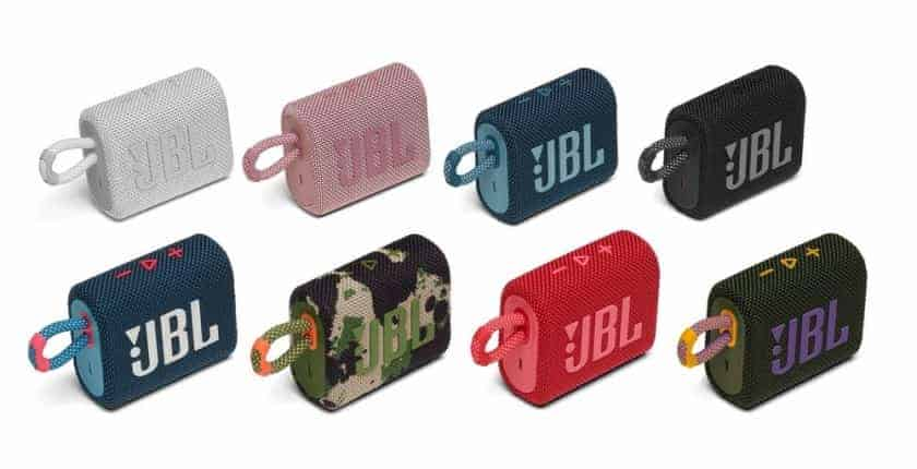 Colores disponibles nuevo JBL GO 3