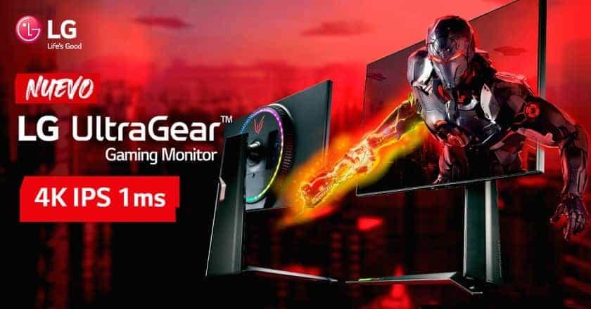 Nuevo monitor gaming LG UltraGear 27GP950 con HDMI 2.1 y FreeSync Premium Pro