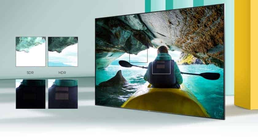 TV Hisense AE7000F HDR 10+