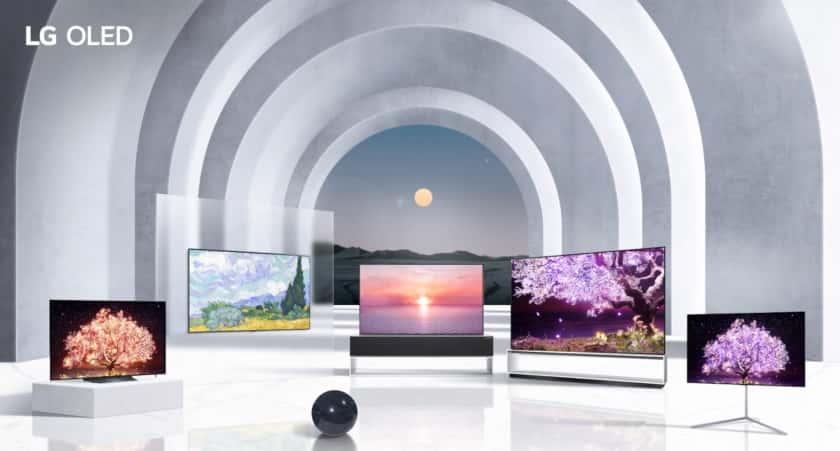 Gama de televisores OLED 2021 de LG