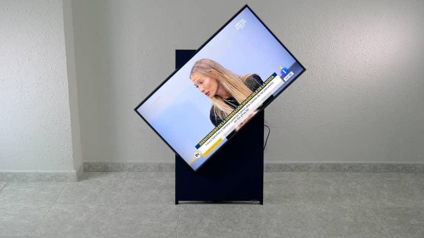 Rotando pantalla a modo horizontal