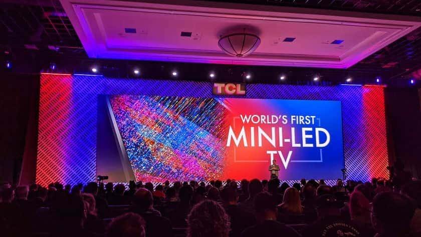 Primer televisor Mini LED del mundo lanzado por TCL