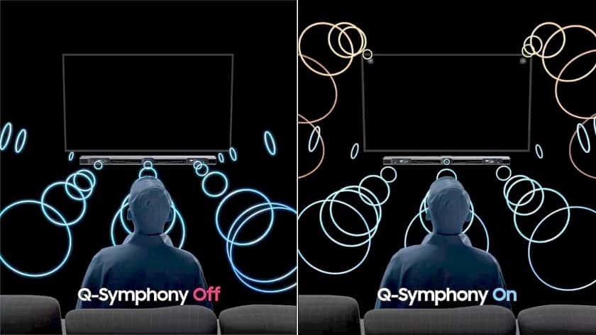 Sistema Q-Symphony de Samsung