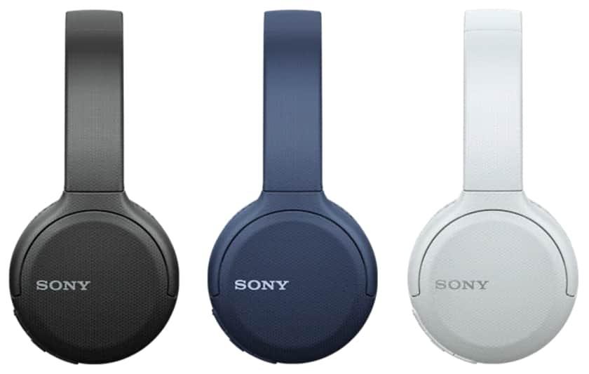 Colores disponibles de los auriculares WH-CH510