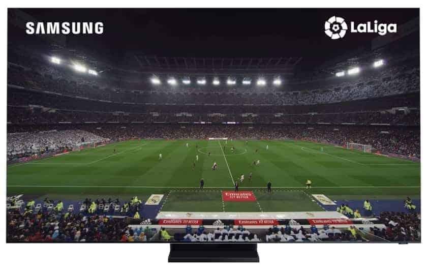 Samsung grabó el Real Madrid - FC. Barcelona en 8K