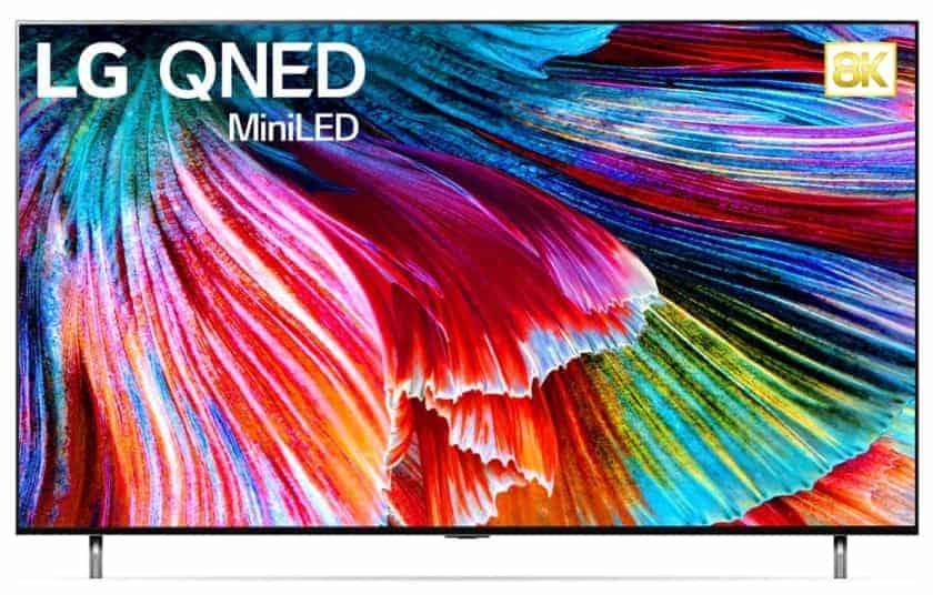 LG QNED99 Mini LED 8K 2021