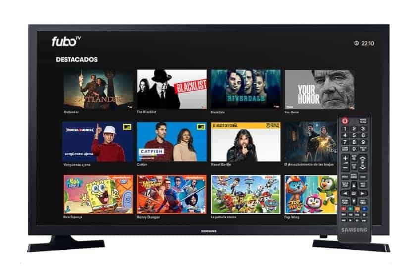 App fuboTV en TV Samsung Smart TV
