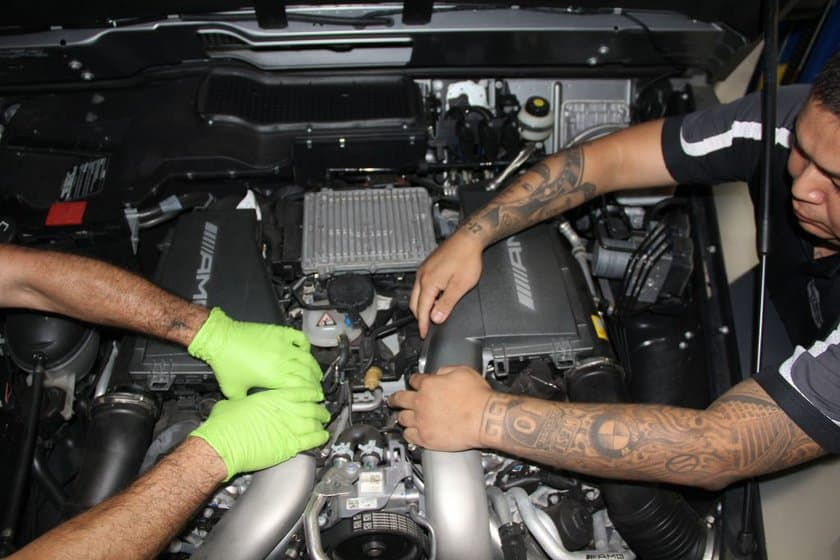 mercedes benz engine rebuild and repair jacksonville fl