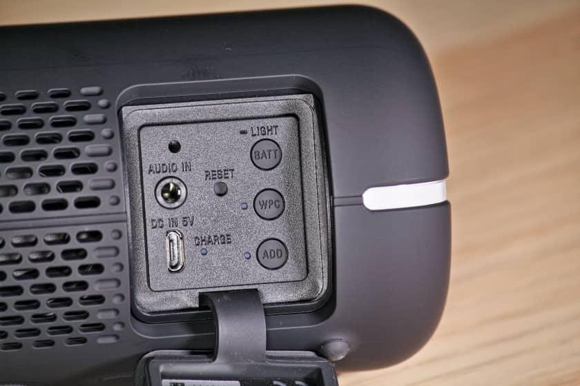 Conexiones y funciones extra Sony SRS-XB22