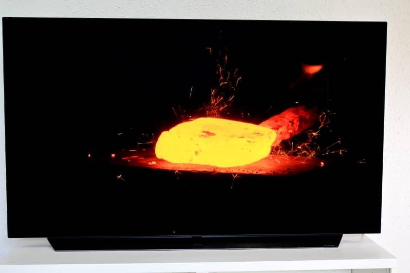 Nivel de negros LG OLED C9