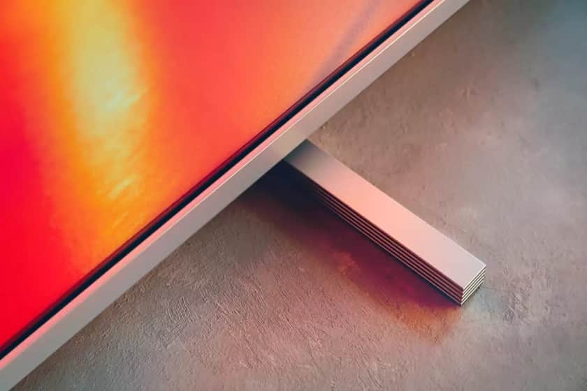 Diseño peana TV Philips PUS7855