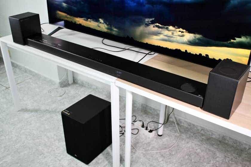 LG SN11RG barra de sonido Dolby Atmos 7.1.4 - Análisis y opinión