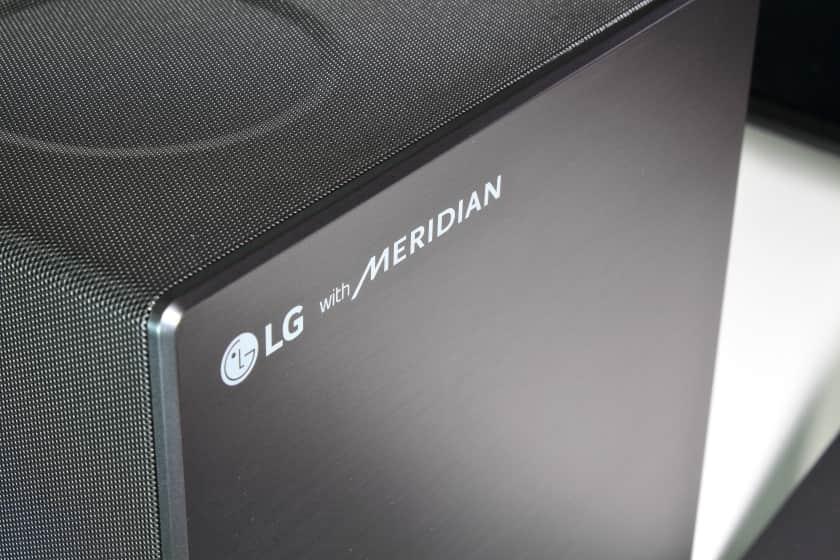 Sonido Meridian Audio en la LG SN11RG