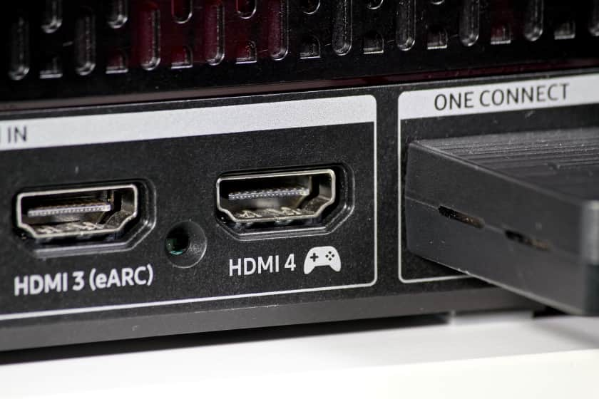 Puerto HDMI 2.1 para videoconsola PS5, Xbox Series X.
