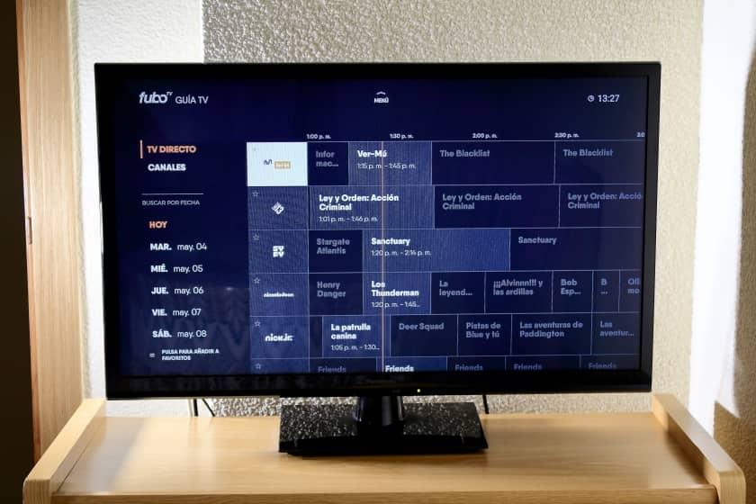 Guía de programación fuboTV