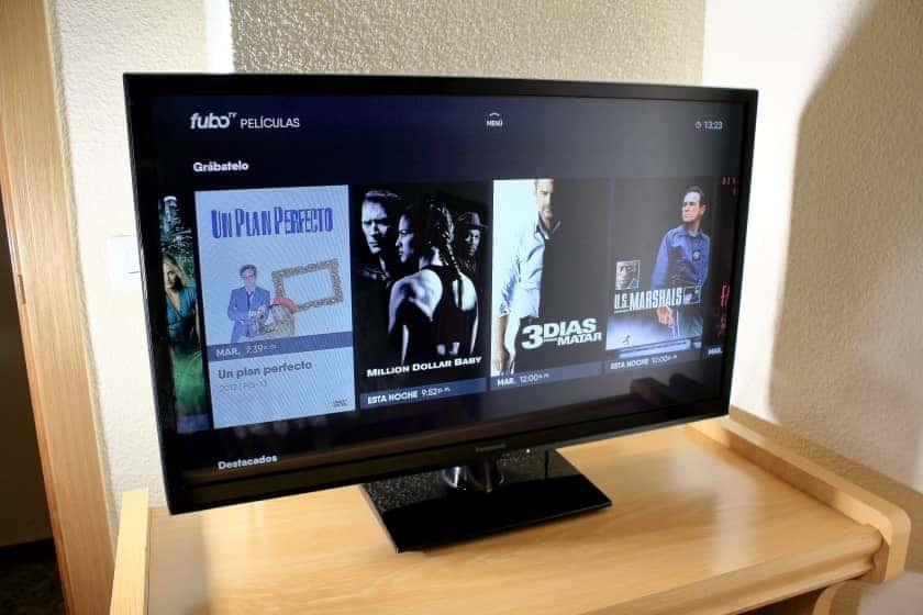 Próximas emisiones de películas en fuboTV