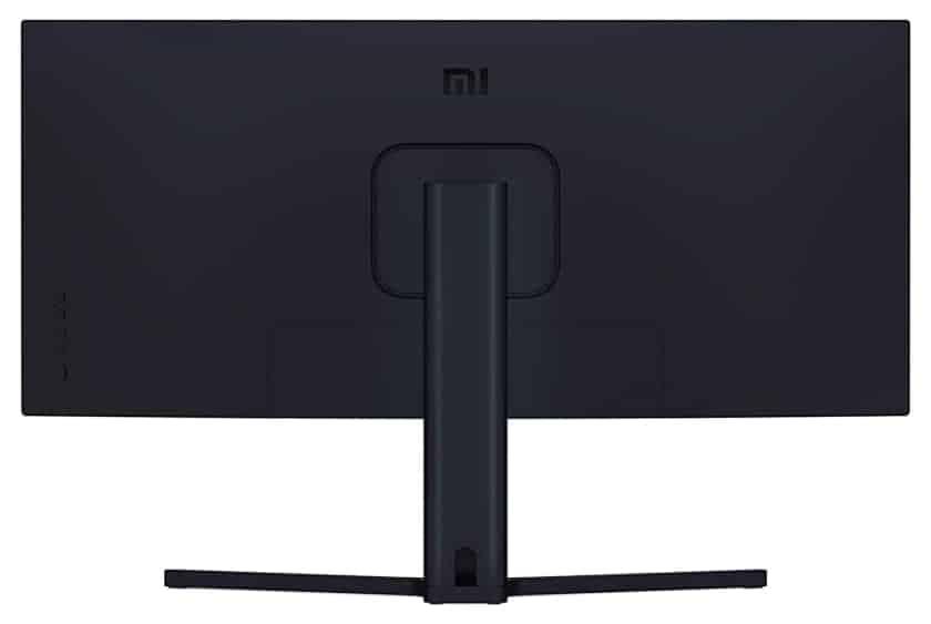 Parte trasera monitor gaming curvo Xiaomi Mi