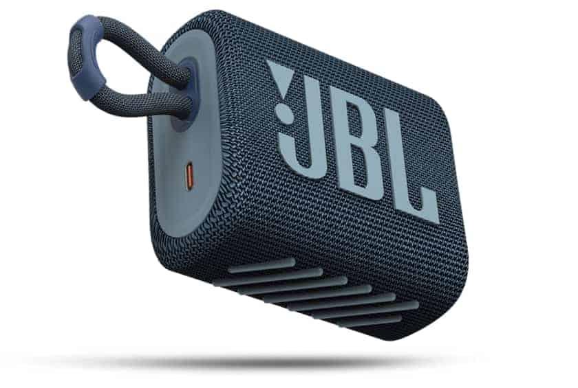 Nuevo diseño del altavoz portátil JBL GO 3