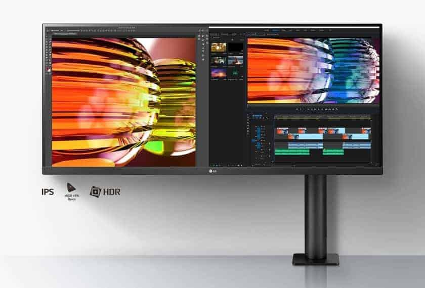 Nueva gama de monitores LG Ergo UltraWide, UltraGear y QHD