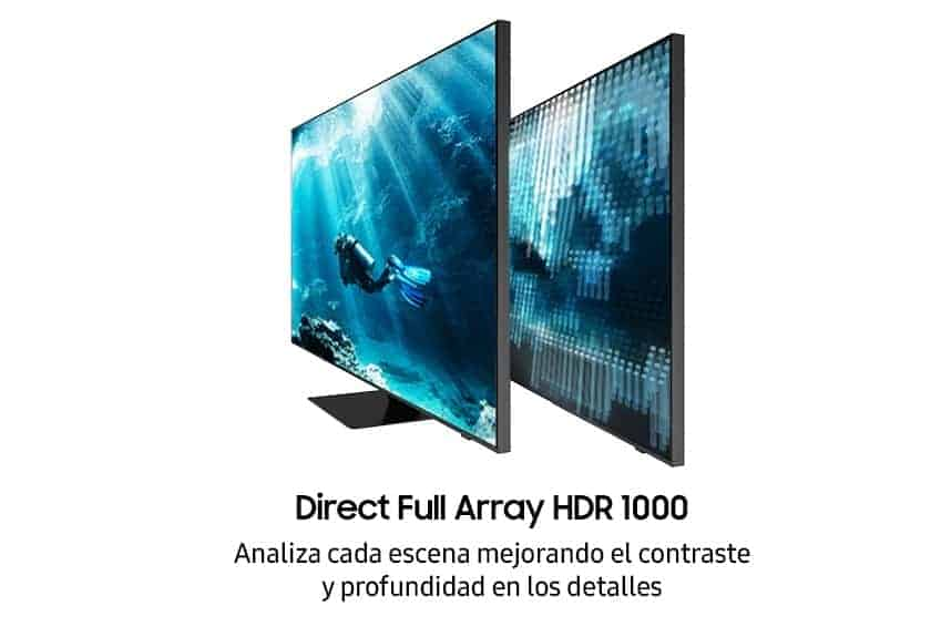 Samsung Q700T QLED 8K Direct Full Array HDR 1000