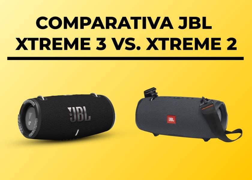 Comparativa altavoces JBL Xtreme 3 vs. Xtreme 2