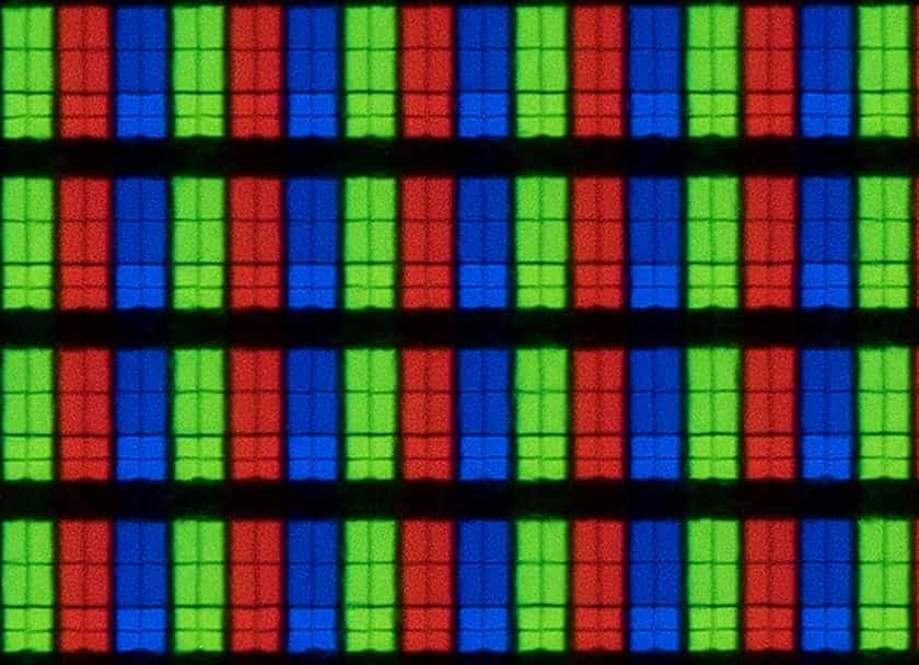 Panel Samsung AU7105 de tipo VA