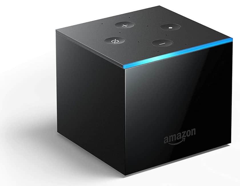 Diseño del Amazon Fire TV Cube Alexa 4K