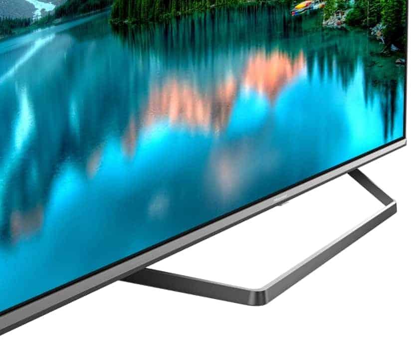 Diseño soporte Hisense ULED 2020 U7QF