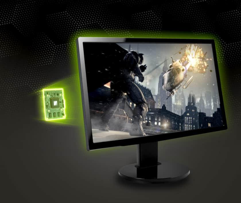 Modulo especial integrado para G-Sync de Nvidia
