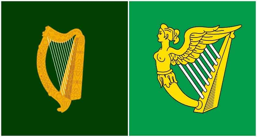 An older Irish flag