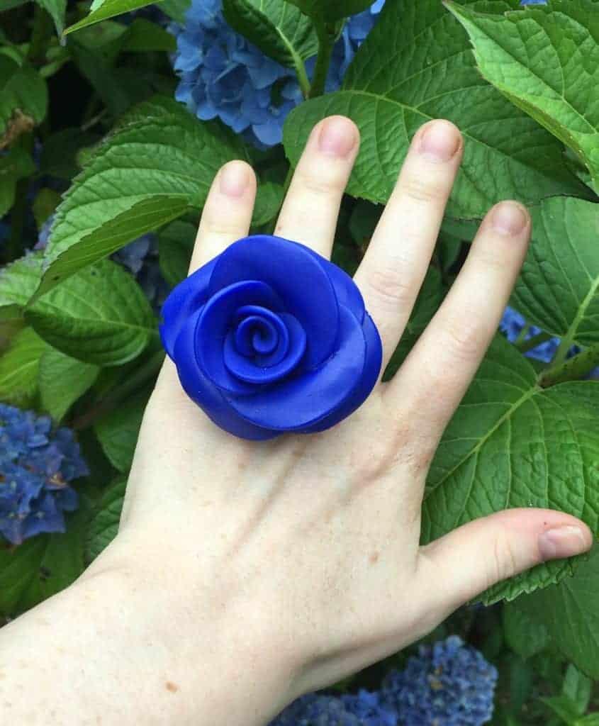 Polymer Rose Ring Tutorial