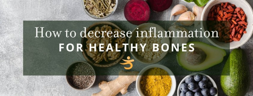inflammation for healthy bones
