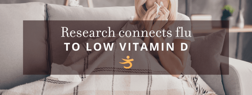 Flu connecting to low vitamin D