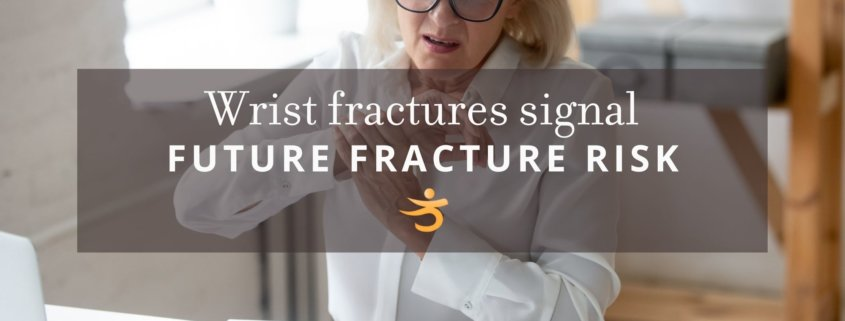Fracture risk in wrist fractures