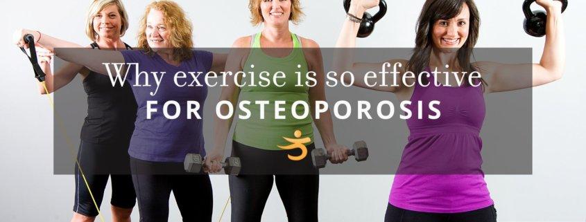 Exercise effecting osteoporosis