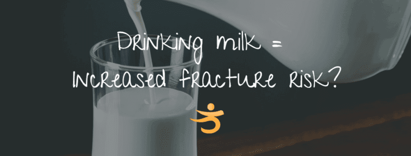 Milk Increases Fracture Risk