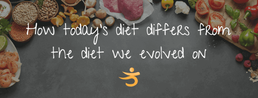 How today's diet differs from the diet we evolved on