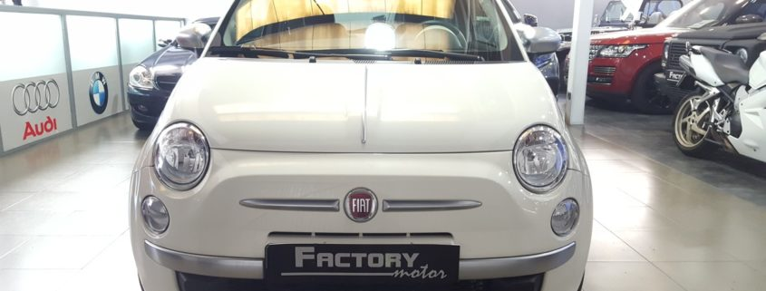 Frontal Fiat 500 1.2 69cv By Gucci