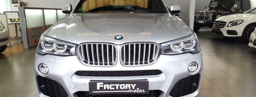 Frontal BMW X4 xDrive30d