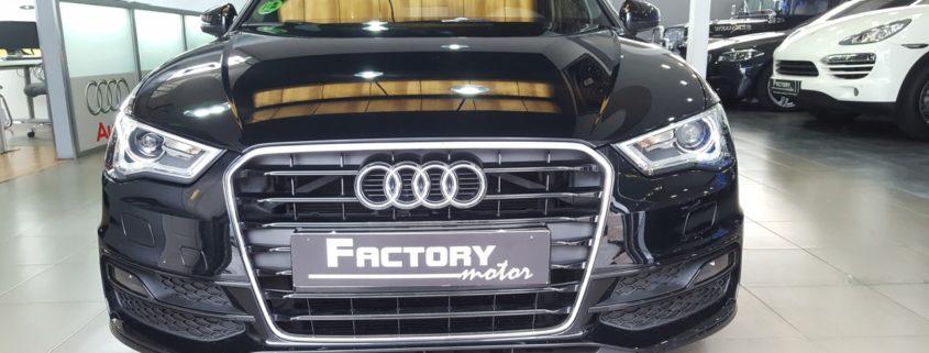 Frontal Audi A3 Sportback 1.8 TFSI S Line