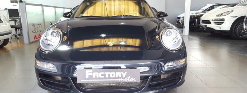 Frontal Porsche 911 Carrera 4S Cabrio